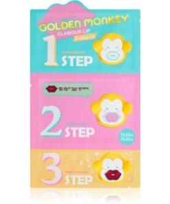 Holika Holika Golden Monkey mască hidratantă pentru buze HLKGOMW_KBAL10