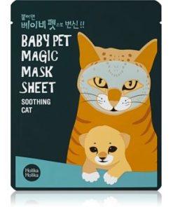 Holika Holika Magic Baby Pet Masca pentru fata cu efect catifelant si revigorant facial HLKMBPW_KMSK15