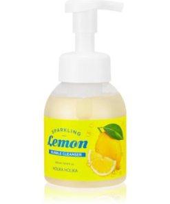 Holika Holika Sparkling Lemon spuma de curatat cu pompa HLKSLMW_KMUR04