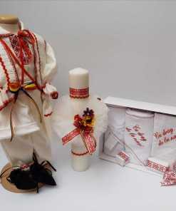 Set Botez Traditional Raul 15 - 3 piese - 9-12 luni