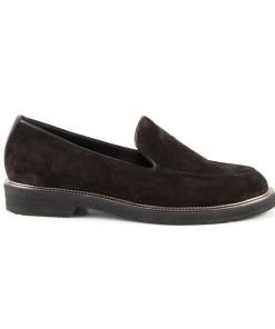 Pantofi femei Luca di Gioia negri din piele intoarsa 1739dp20060vn 15701