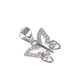 Pandantiv argint simbol fluture