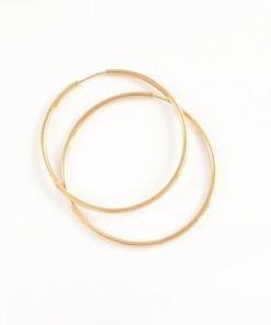 Creole 3.5 cm placate cu aur Celestine CPAU225