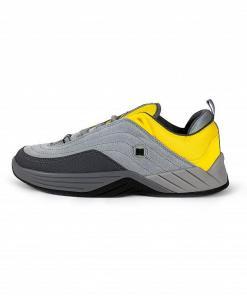 Teniși Williams Slim Grey/Yellow