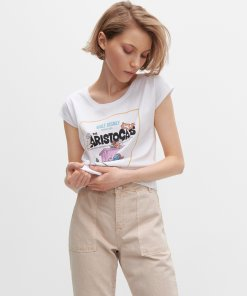 Reserved - Tricou The Aristocats - Alb