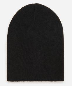 Reserved - Căciulă din jerseu - Negru
