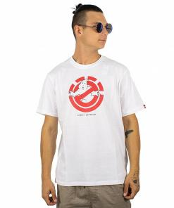 Tricou Ghostly SS optic white