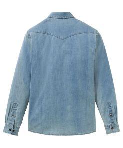 Cămașă blugi stretch - albastru