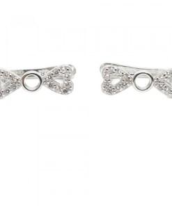 Cercei din argint Papillon CAG058