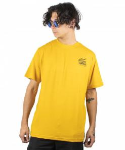 Tricou B-Side SS old gold