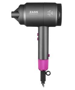 Uscator de par Zass, putere 2000 W, 3 trepte temperatura, 3 viteze, functie ionizare