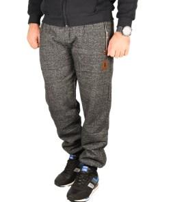 Pantaloni grosi de trening gri Style - cod 40358