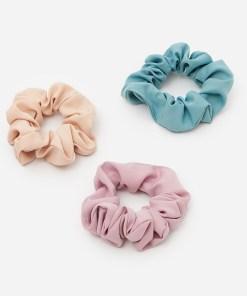 House - Set de 3 elastice de păr pastelate - Multicolor