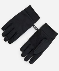 Reserved - Mănuși cu sistem de prindere cu clips - Negru