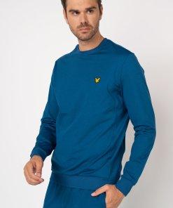 Bluza sport din material ce nu retine umezeala cu decolteu la baza gatului 3188036
