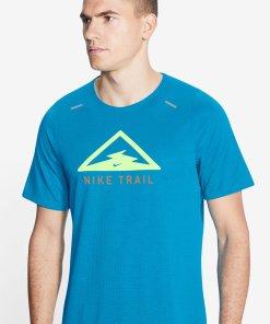 Tricou cu tehnologie Dri-FIT si imprimeu grafic - pentru alergare Rise 365 2976358