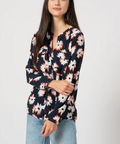 Camasa cu maneci lungi si imprimeu floral 3154663