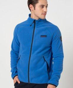 Bluza sport din fleece cu maneci raglan Tear 3280378
