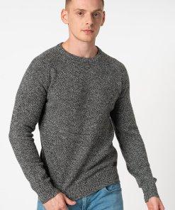 Pulover slim fit de lana merinosTwisted 3186293