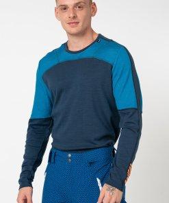 Bluza termica de lana merinos cu decolteu la baza gatului LIFA 3185539