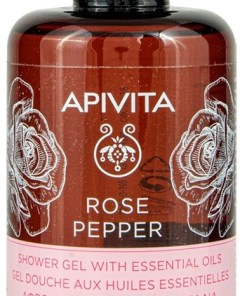 Apivita Rose Pepper Gel De Dus 250ml