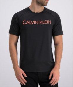 Tricou Calvin Klein Performance 00GMT9K275 Argintiu