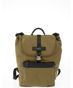 Michael Kors EST 1981 Fabric KENT Backpack with Drawstring GREEN
