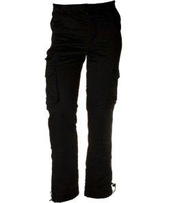 Loshan Elwood pantaloni izolați bărbați model negru