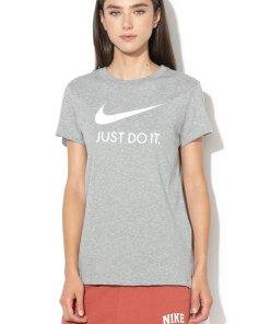 Tricou slim fit cu imprimeu logo 2284190