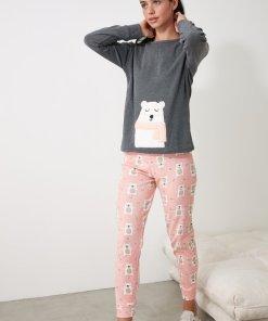 Pijama cu tematica cu ursulet 3312489