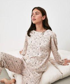 Pijama cu maneci lungi si semi-luna 3336870