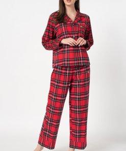 Pijama de flanel in carouri 3272841