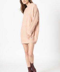 Rochie tricotata cu maneci cazute 3367509