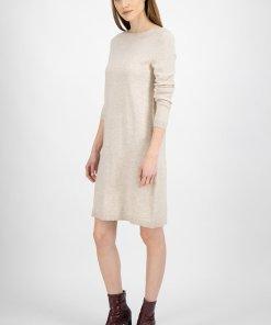 Rochie tip pulover cu decolteu barcuta 3283949