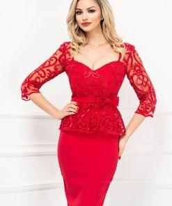 Rochie de ocazie eleganta rosie