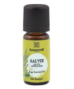Ulei Bio Esential Salvie (Salvia officinalis), 10ml, Sonnentor