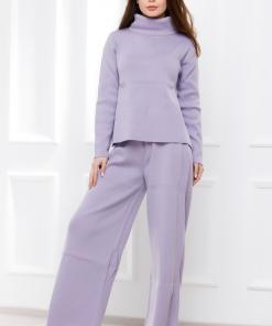 Compleu Caron lila din tricot