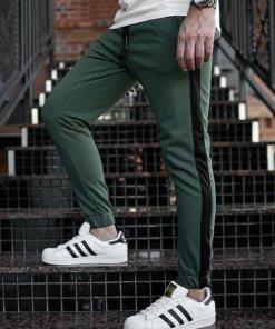 Pantaloni trening bărbați kaki Bolf 11120