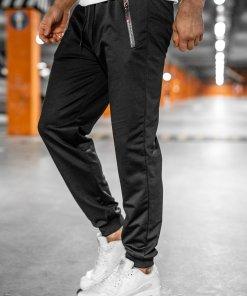 Pantaloni de trening negri Bolf JX1028