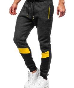 Pantaloni de trening negri Bolf K60019