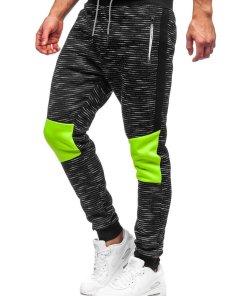 Pantaloni de trening negri Bolf K60002
