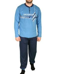 Pijama bleu pentru barbat - cod 41590