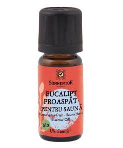 Ulei Bio Esential Eucalipt Proaspat pentru Sauna, 10ml, Sonnentor