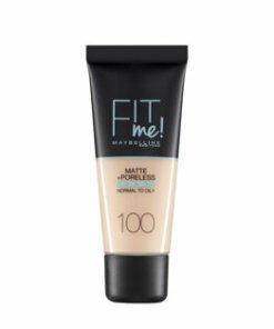 Fond de ten matifiant Maybelline New York Fit Me Matte & Poreless 100 Warm Ivory, 30 ml