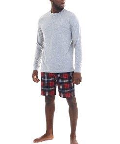 Pijama in carouri Aloe 3467461