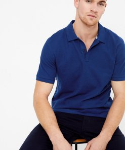 Tricou polo regular fit de bumbac 2714820