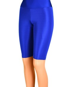 Colanti albastri luciosi pentru dama - cod 37475