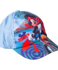 Sapca baieti Mickey Mouse Bike bleu