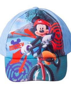 Sapca baieti Mickey Mouse Bike albastra