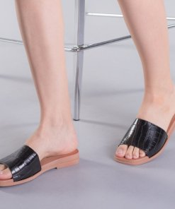 Papuci dama Zenovia negri